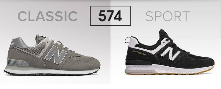 new balance 373 vs 574